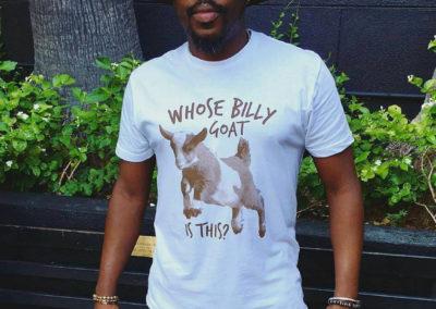 Anthony Hamilton T-shirt (Design, Printing)