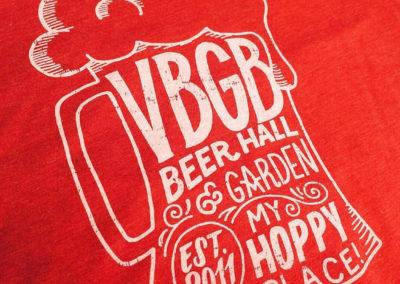 VBGB T-shirt (Illustration, Printing)