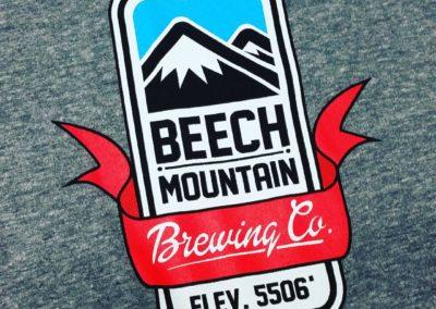 Beech Mountain T-shirt (Illustration, Printing)